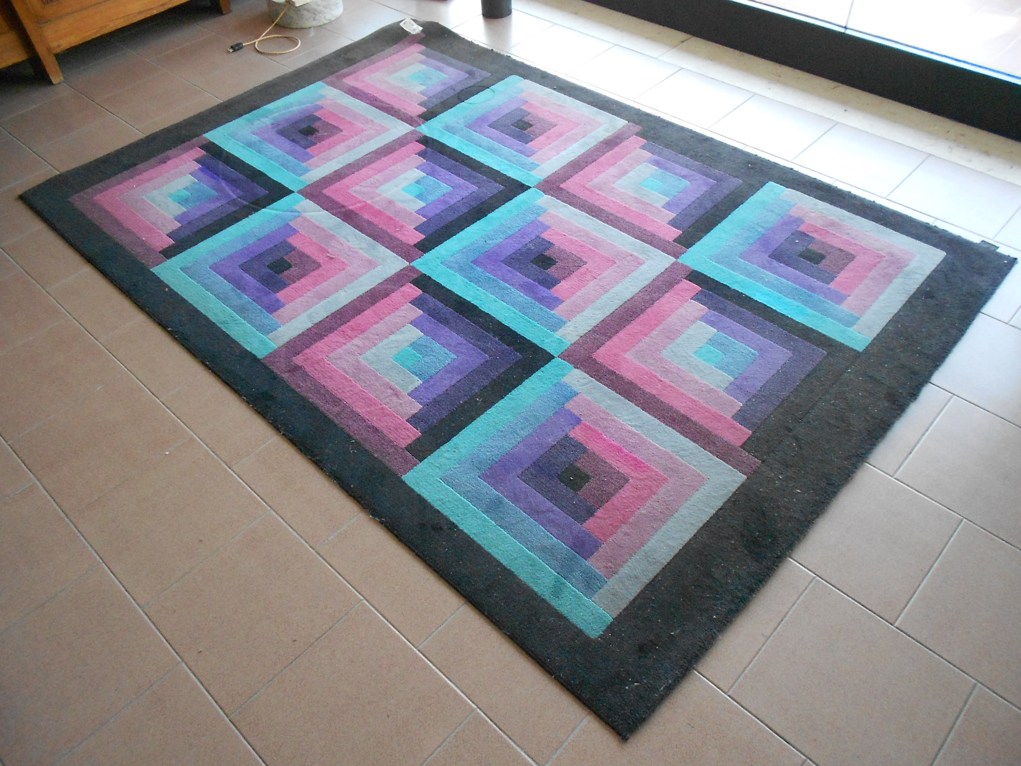 Tappeti missoni beautiful tendenza dei tappeti patchwork colori